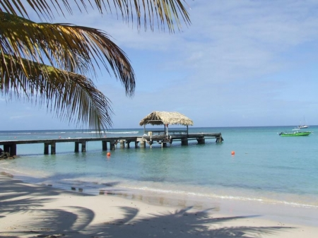 Tobago: Strand von Pigeon Point